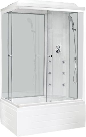 Душевая кабина ROYAL BATH 8120BP3 WT\BT 1200х800